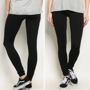Black One Size Leggings